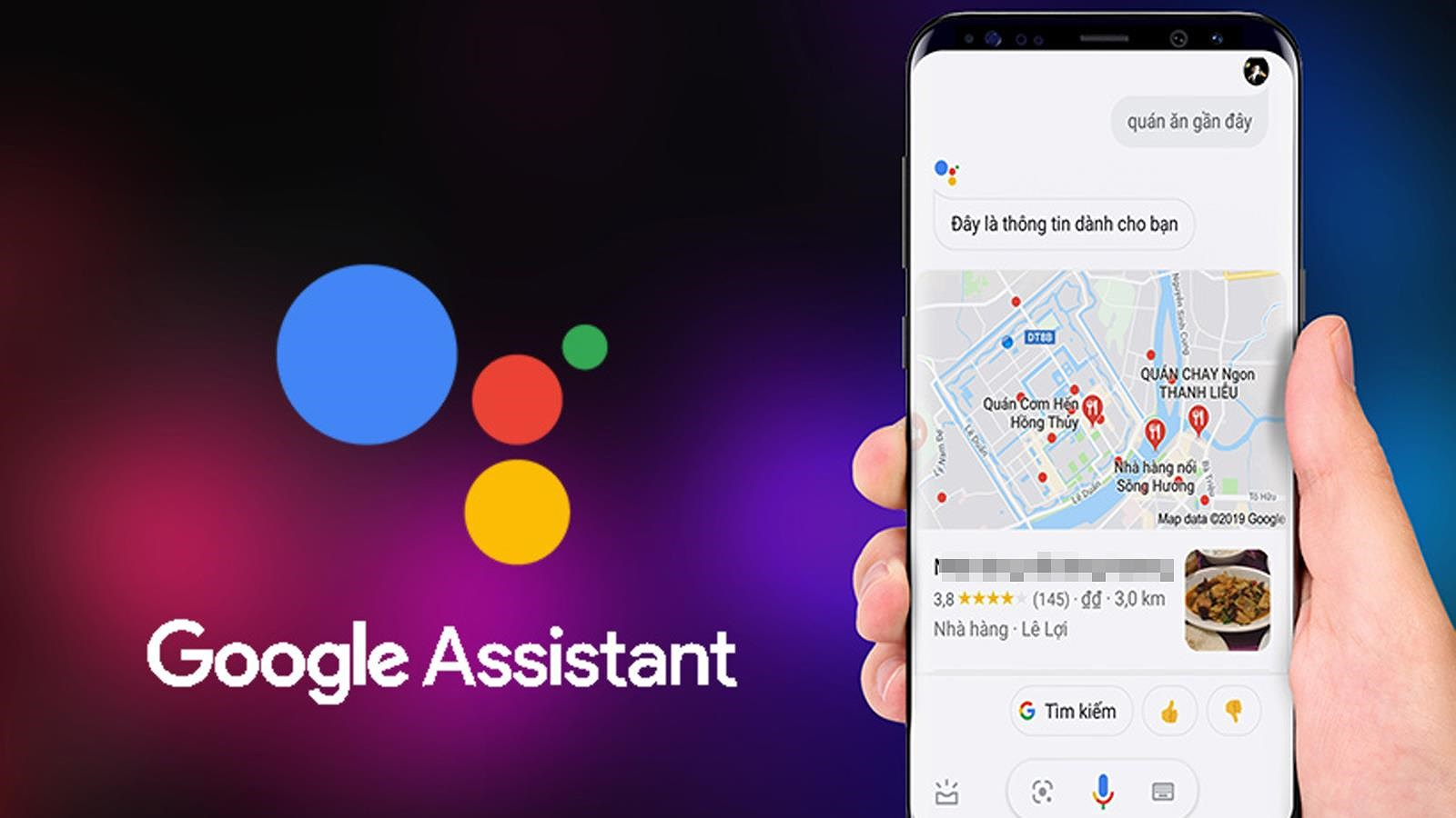 Các thiết bị tương thích với Google Assistant