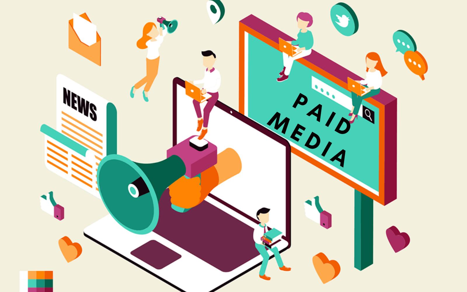 Paid media - Truyền thông trả phí
