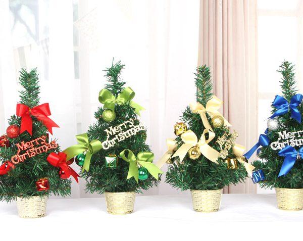 Cây thông Noel mini - Ý tưởng kinh doanh mùa Noel không thể bỏ qua