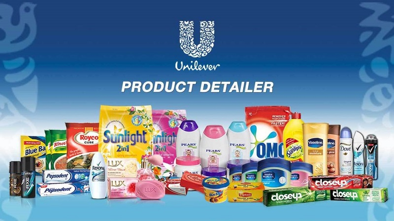 Danh mục hàng hóa của Unilever tại Việt Nam