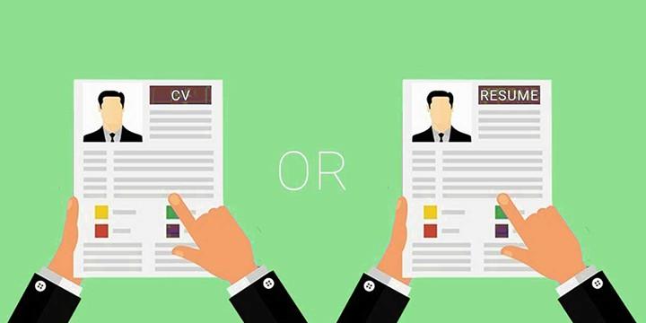 Sự khác nhau giữa CV và Resume