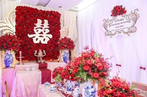 trong đám cưới, ý nghĩa của chữ song hỷ là gì