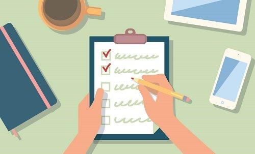 Checklist là gì